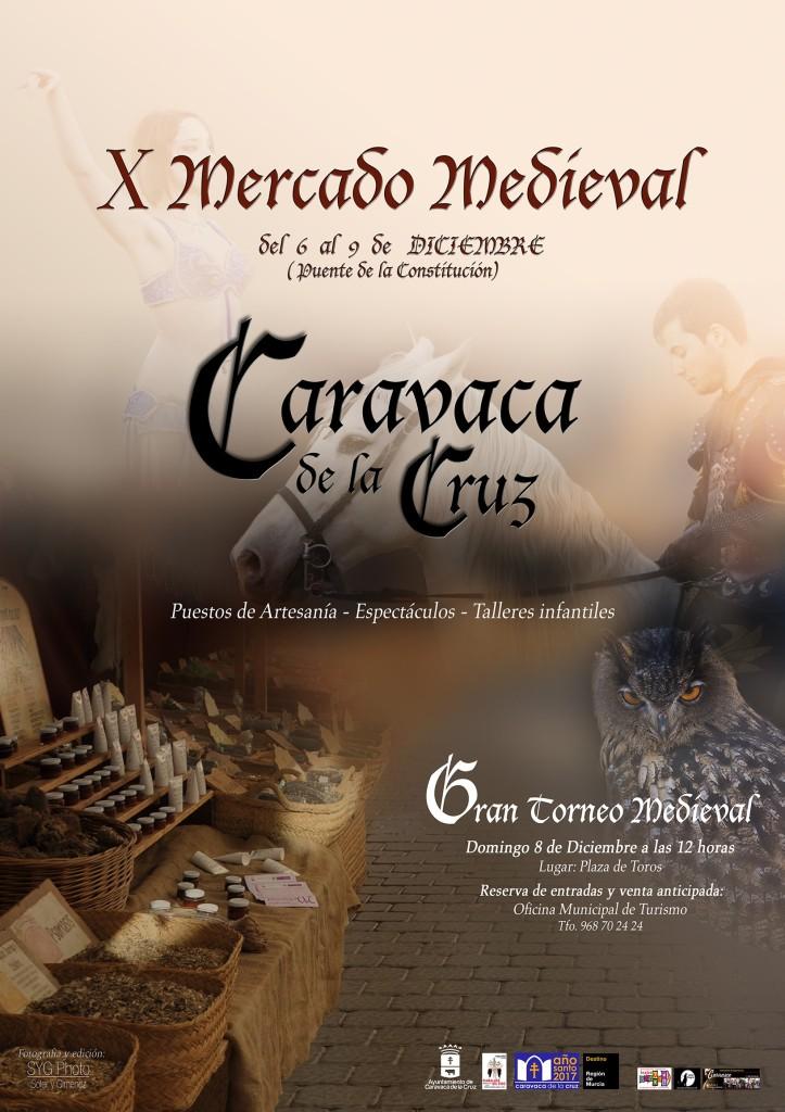 Cartel del Mercadillo Medieval de Caravaca